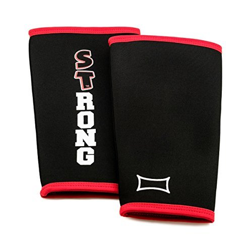 Shin Savers by Mark Bell (sold as a pair) (Black, 4XL) (Shin Saver)
