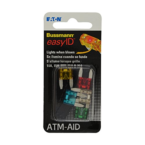 Easy Fuse (Bussmann BP/ATM-AID easyID Fuse Assortment Kit)