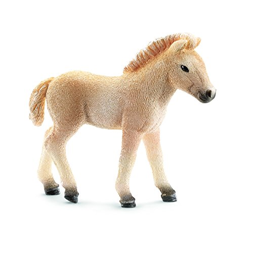 Schleich Fjord Horse Foal Toy (Foal Horse Heads)