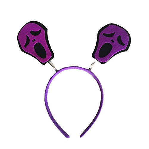 Headband Halloween Party,Children's Makeup Party Hairbands Performance Decoration By LoveQmall (Purple Devil) -