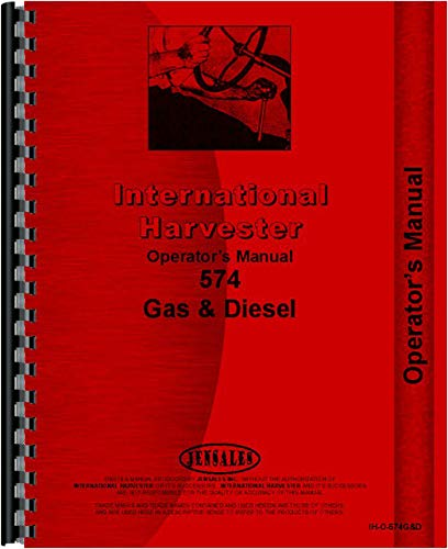 ter 574 Tractor Operators Manual (Gas and Diesel Only) ()