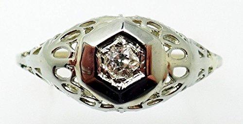 0.05 Ct Genuine Diamond - 7