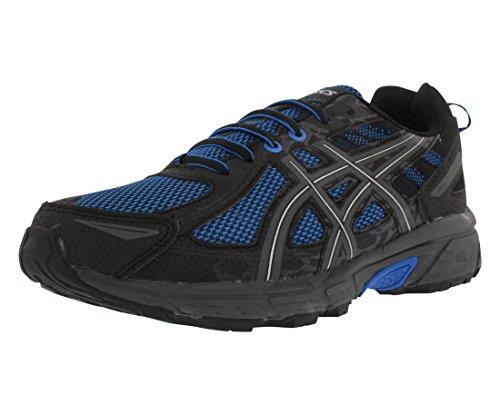 ASICS Mens Gel-Venture 6 Running Shoe, Victra Blue/Blue/ Black, 10.5 D(M) US