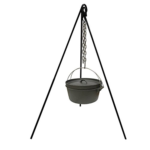Trading Corp Oven (Stansport 15997 Cast Iron Camp Fire Tripod)