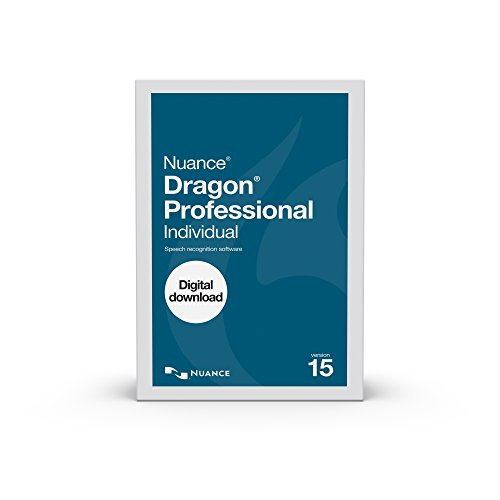 Dragon Professional Individual 15.0, Academic [PC Download] (Dragon Software For Writers)