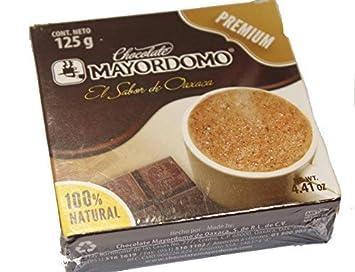 Chocolate Mayordomo El Oro De Oaxaca Premium 100% Natural De Oaxaca Mexico 125 Grms