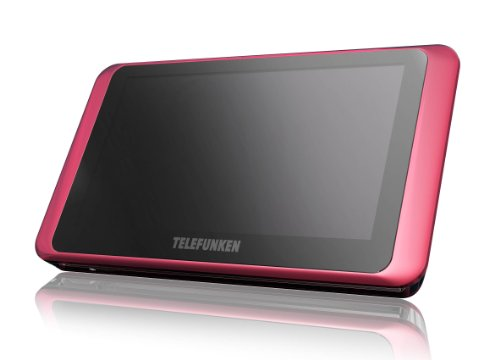 Telefunken T9HD Portabler Multimedia Player (HDMI, SD-Card Slot, TFT LCD Touchscreen, Wifi) 16 GB pink