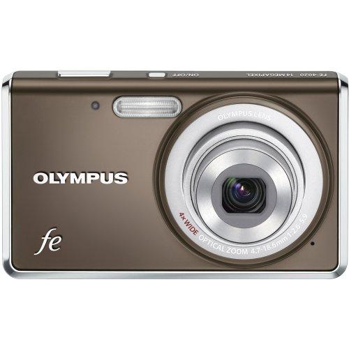 Olympus FE-4020 Digital Camera Gray, 14MP, 4X ()