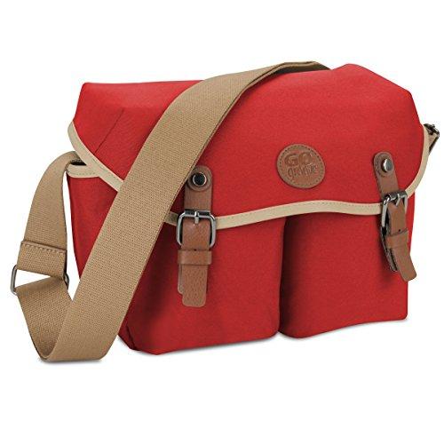 DSLR Shoulder Messenger Bag  by GOgroove for Canon, Nikon, S