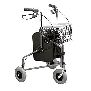 Rollator a 3 ruedas, HOMECRAFT: Amazon.es: Salud y cuidado personal