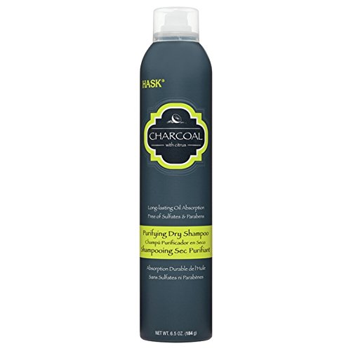Hask Charcoal With Citrus Purifying Dry Shampoo, 6.5 Ounce