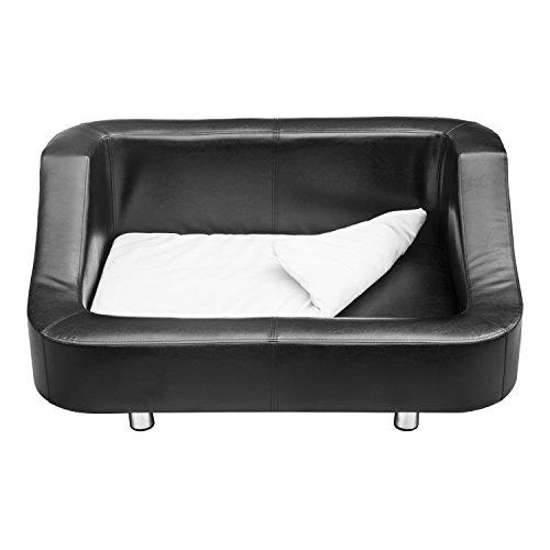 PawHut-Sofá sofá-cama de lujo para perros domésticos y animales 67 x 52 x40cm color negro: Amazon.es: Hogar