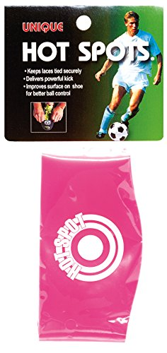 Unique Soccer Hot Spots Shoe Lace Cover, Neon Pink, Youth