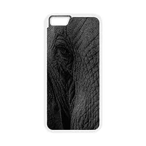 iPhone 6 4.7 Inch Cell Phone Case White Elephant Eye Animal Nature Cehmf
