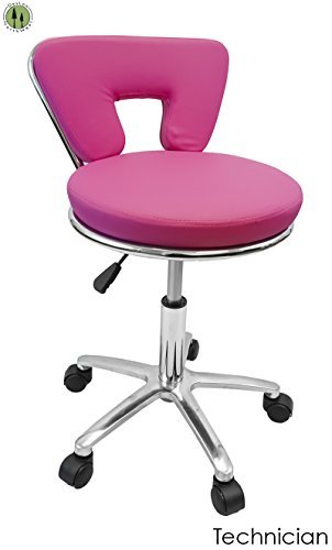 Pleasant Amazon Com Pink Hydraulic Tattoo Salon Rolling Stool Gmtry Best Dining Table And Chair Ideas Images Gmtryco
