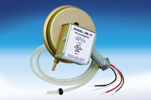 Fantech DB 10 Pressure Switch Kit Only with Delay (Kit Switch Pressure)