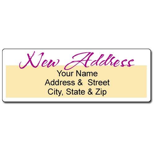 We've Moved - New Address Label - Customized Return Address Label - 90 Labels]()