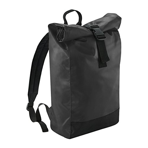 BagBase Tarp Rolltop 15 Litre Backpack Rucksack - One Size - (Roll Skate Backpack)