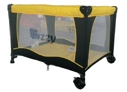 Fizzy Pack n Play Playard, Yellow by Fizzy