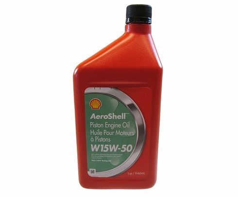 AeroShell Oil W 15W50 MG - 550041165 - 12 1Quart Case by AeroShell