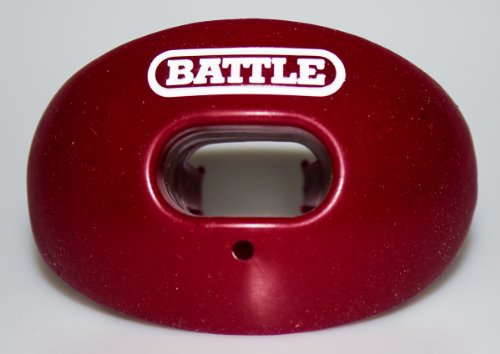 Battle Oxygen Lip Protector Mouthguard, Maroon