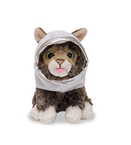 Cuddle Barn Adorable Kitten Cat Plush Toy 5.5in Baby Lil' Bub Cosmonaut CB88252