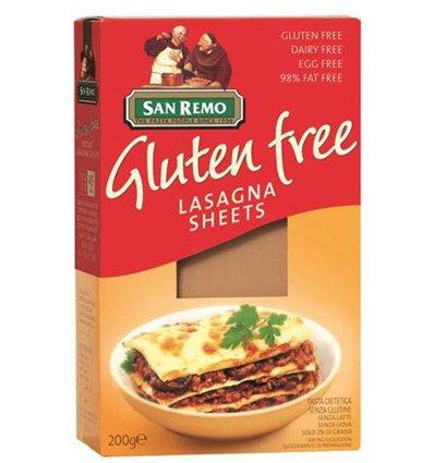 San Remo Macarrones Co Libre de Gluten Lasaña 200gm: Amazon.es: Alimentación y bebidas