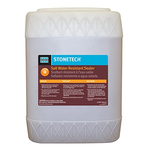 (StoneTech Salt Water Resistant Sealer for Natural Stone & Masonry, 5-Gallon Drum)