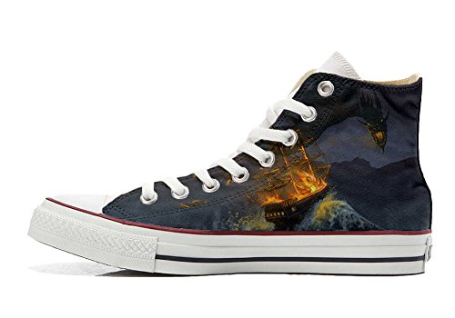 Converse Customized Adulte - chaussures coutume (produit artisanal) Videogame