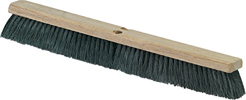 Carlisle 3621923603 Flo-Pac Hardwood Block Floor Sweep, Tampico Bristles, 36'' Block Size, 2-1/2'' Bristle Trim, Black (Pack of 6) by Carlisle