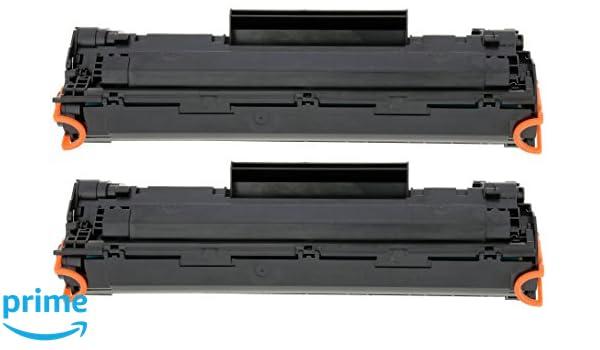 TONER EXPERTE® 2 Cartuchos de Tóner compatibles con HP CE285A ...