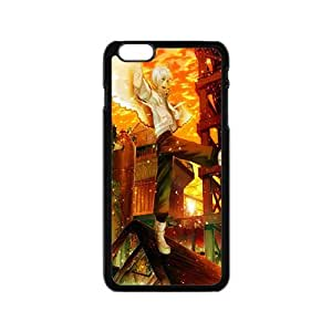 anime boy with swings personalized high quality cell phone case for Iphone 6 by Maris's Diaryby Maris's Diary