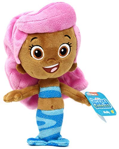 (Nick Jr Bubble Guppies Plush Bubble Molly Sparkly Stuffed Bean)