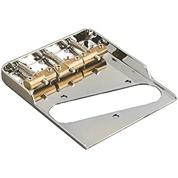 modern ashtray style telecaster bridge compensated saddles double notched musical. Black Bedroom Furniture Sets. Home Design Ideas