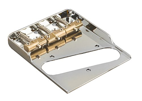 Modern Ashtray Style Telecaster Bridge-Compensated Saddles-Double Notched-Barden