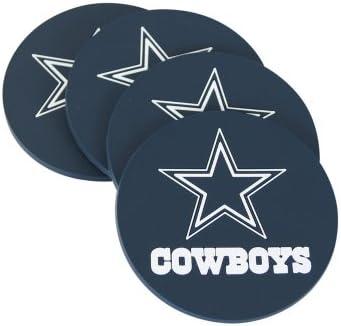 Dallas Cowboys Coaster Set Set of 4
