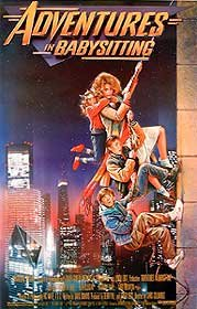 ADVENTURES IN BABYSITTING ORIGINAL MOVIE POSTER