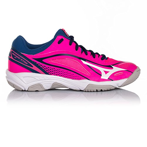 6qgxa Mirage pink Star th de Junior Basket 2 Chaussure AW17 Mizuno qBwxzH