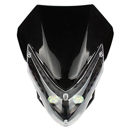 Andux Land Motorcycle Headlight Turn Signal Lights with Housing DDZ-01
