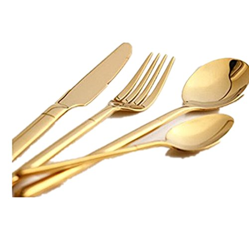Jinsen Flatware set includes dinner knife, dinner fork,dinner spoon and (Silverplate Dinner Knife)