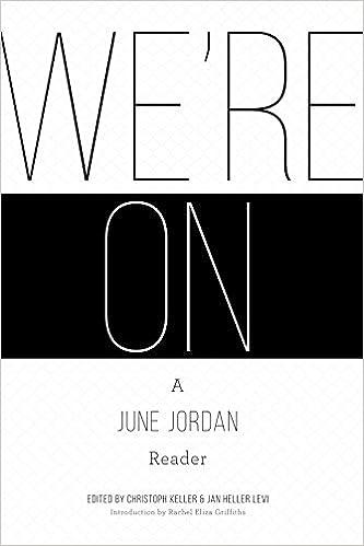 Amazon Were On A June Jordan Reader 9781938584350