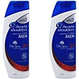 Head and Shoulders Shampoo 2-in-1 Old Spice Scent 13.5 Fl Oz (2 Pack)