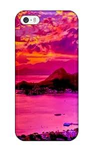 Ivan Erill's Shop New Fashion Premium Tpu Case Cover For Iphone 5/5s - Harbor Sunset 4777994K49493548