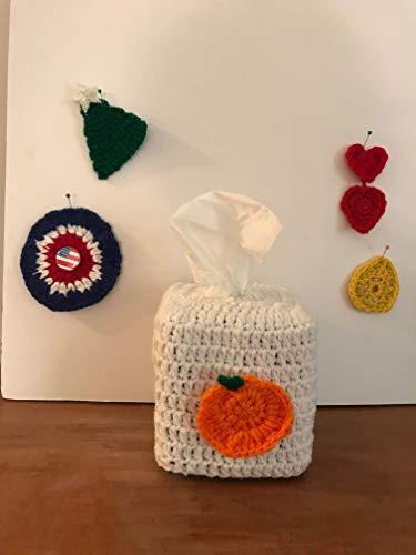 Handmade Crochet Tissue Box Cover For All Seasons