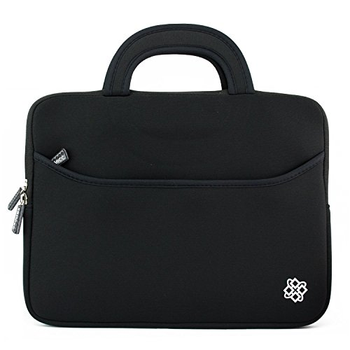 Laptop Portable Neoprene Carrying Sleeve Case Bag Handle Pocket for Apple MacBook Air Pro, Dell, HP, Samsung ()