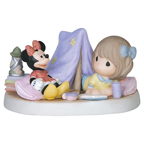 Precious Moments Disney Every Day Is An Adventure With You Girl & Minnie Mouse Camping