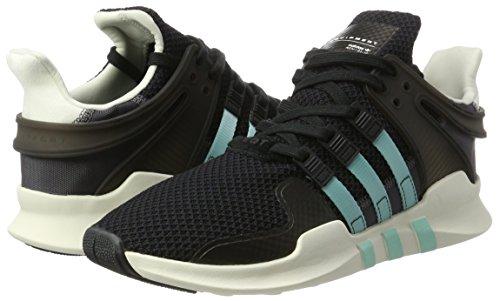 clear Black core Adidas Support Equipment Aqua Scarpe Ginnastica Nero Da Basse Adv Donna granite vxzPv