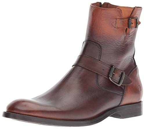 FRYE Men's Jacob Engineer Fashion Boot, Cognac, 9.5 M M US ()