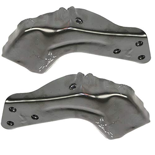 Koolzap For 94-00 Chevy C/K Pickup Truck & Tahoe Front Bumper Inner Brace Bracket SET PAIR ()