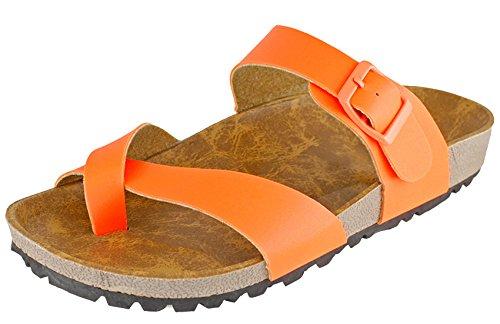 Cambridge Velg Kvinners Skli På Lysbildet Sandal Oransje